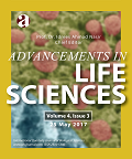 Advancements in Life Sciences, Volume 4; Issue 3