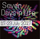 Advancements in Life Sciences' Seven Days in Life (17 - 23 July 2017)