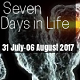 Advancements in Life Sciences' Seven Days in Life (31 July - 06 August 2017)
