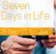 Advancements in Life Sciences' Seven Days in Life (25 Sept - 01 Oct 2017)