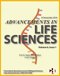 Advancements in Life Sciences, Volume 6; Issue 1